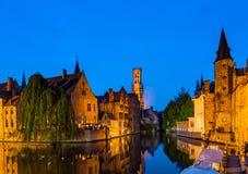 Punto di riferimento di bruge Belgio Fotografia Stock Libera da Diritti