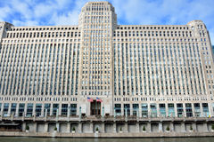 Punto di riferimento di Chicago, mercato di mercanzie Fotografie Stock Libere da Diritti
