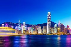 Punto di riferimento di Hong Kong Fotografie Stock