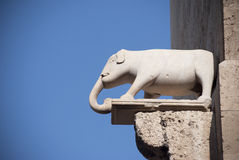 Punto di riferimento di Sardinia.Cagliari fotografie stock