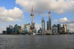 Punto di riferimento di Shanghai Immagini Stock Libere da Diritti