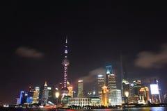 Punto di riferimento di Shanghai Fotografia Stock