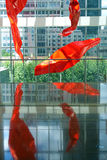 Punto di riferimento di Shanghai Kerry Center Fotografie Stock Libere da Diritti