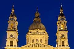 Punto di riferimento famoso di Budapest, Ungheria Fotografia Stock Libera da Diritti