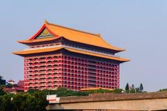 Punto di riferimento famoso in Taipei, Taiwan immagine stock libera da diritti