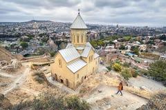 Punto di riferimento famoso di Tbilisi Fotografie Stock