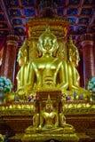 Punto di riferimento di Nan, Tailandia - Wat Phumin o tempio di Phumin un luogo pubblico a cui è aperto alla gente o ai turisti r immagini stock