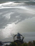 Punto di riferimento storico alla spiaggia Fotografia Stock