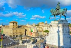 Punto di riferimento turistico di Roma di visita, Italia Immagini Stock