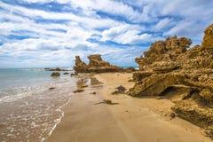 Punto di Roadknight, Anglesea Victoria fotografie stock libere da diritti