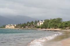 Punto di vacanza della località di soggiorno di Maui Fotografia Stock Libera da Diritti