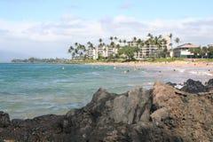 Punto di vacanza della località di soggiorno di Maui Immagine Stock
