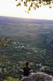 Punto di vista, allerta della montagna, Botswana Immagine Stock