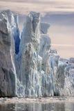 Punto di vista di Artial del Perito Moreno Glacie fotografia stock libera da diritti