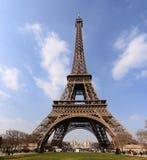 Punto di vista classico di Eiffel di giro Immagini Stock Libere da Diritti