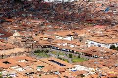 Punto di vista di Cusco - Peru South America fotografie stock