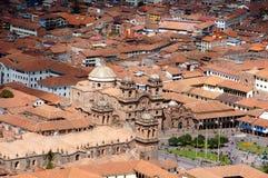 Punto di vista di Cusco - Peru South America fotografia stock