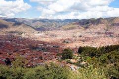 Punto di vista di Cusco - Peru South America fotografie stock libere da diritti