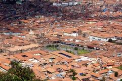Punto di vista di Cusco - Peru South America immagine stock