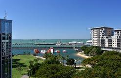 Punto di vista di Darwin Waterfront fotografia stock libera da diritti