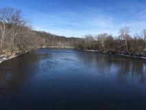 Punto di vista del fiume immagine stock libera da diritti