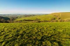 Punto di vista del paese dell'Inghilterra Dorset Immagini Stock