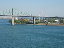 Punto di vista del san Lawrence River Fotografia Stock Libera da Diritti