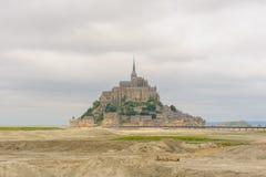 Punto di vista del san Michel di Mont immagini stock libere da diritti
