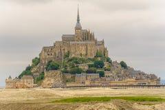 Punto di vista del san Michel di Mont fotografie stock libere da diritti