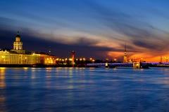 Punto di vista del san Peterburg a vicino Fotografia Stock