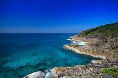 Punto di vista dell'isola di Tachai in Tailandia Fotografia Stock