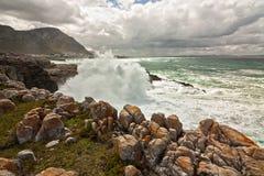 Punto di vista dell'oceano Fotografie Stock