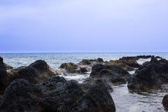 Punto di vista dell'Oceano Pacifico Fotografia Stock Libera da Diritti
