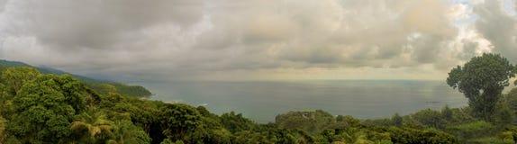 Punto di vista dell'Oceano Pacifico Immagini Stock