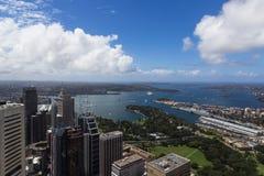 Punto di vista dell'uccello di Sydney Immagine Stock Libera da Diritti