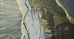 Punto di vista dell'uccello di Grand Canyon variopinto immagine stock libera da diritti