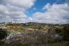Punto di vista della città di Dalat nel Vietnam Fotografie Stock Libere da Diritti