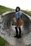 Punto di vista della ragazza Fotografie Stock