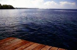 Punto di vista delle Samoa Occidentali - oceano Fotografia Stock