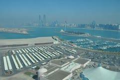 Punto di vista di Abu Dhabi, Emirati Arabi Uniti Fotografia Stock