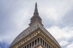 Punto di vista di angolo basso della talpa Antonelliana Torino, Piemonte, Italia immagini stock libere da diritti