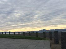 Punto di vista di Astoria Oregon Fotografia Stock