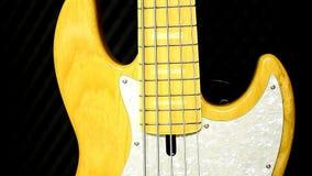 Punto di vista di Bass Guitar stock footage
