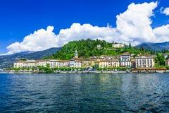 Punto di vista di Bellagio - Lago di Como, Italia Immagine Stock