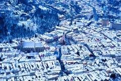 Punto di vista di Brasov Romania Fotografia Stock