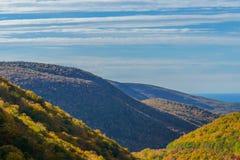 Punto di vista di Cabot Trail Scenic Fotografia Stock