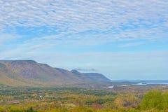 Punto di vista di Cabot Trail Scenic Immagini Stock