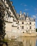 Punto di vista di Chateau de Chenonceau Immagini Stock