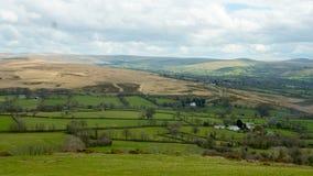 Punto di vista di Devon Countryside Immagini Stock