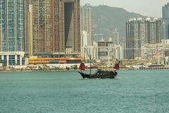 Punto di vista di Hong Kong Kowloon Fotografia Stock Libera da Diritti